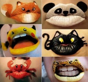 Lippenbilder mal anders